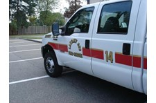 EVR010 - Custom Emergency Vehicle Reflective Striping & Chevron for Government