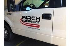 - Vehicle Graphics - Ready-To-Apply Graphics - Birch Equipment - Burlington, WA