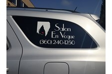 - Vehicle Graphics - Ready to Apply - Salon En Vogue - Oak Harbor, WA
