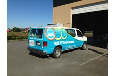 - Vehicle Graphics - Partial Vehicle Wrap - Wave Broadband - La Conner, Wa