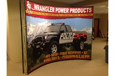 - Tradeshow Graphics - Pop-Up Display - Wrangler Power Products - Arlington, Wa