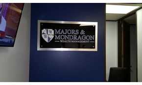 Logo and Reception Area Signs