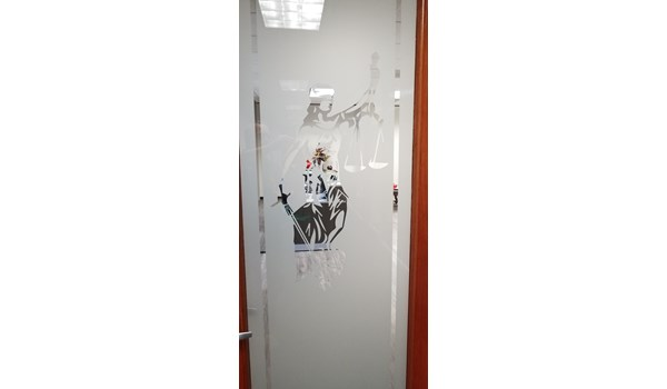 Houston, Texas Attorney Office Privacy Window Film